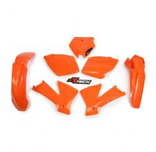Plastic Kit Orange KTM SX 125/250/400/450/520 01-03